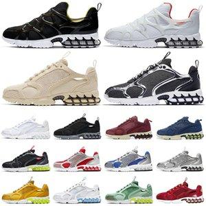 nike stussy air zoom spiridon cage 2 Kukini koşu ayakkabısı Saf Platin Limon Venom des chaussures bayan erkek eğitmenler spor ayakkabı