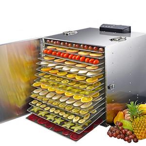 8/10/12/16/20 Layer Commercial Professional Fruit Осушитель 110V 220V фруктов Растительные Pet Meat осушитель воздуха Осушитель