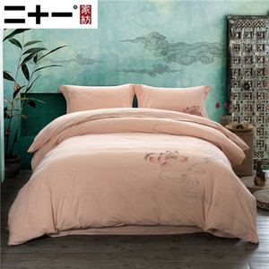 Twenty-one Four Paper Set A Class Wash Cotton Bedding Article Chinese Style Zen Painter Hand Fund