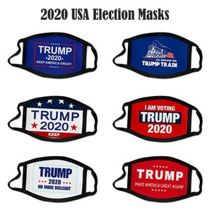 US Stock Party Trump Impression 3D Masque 2020 Election Keep America Great Party Encore une fois Cosplay Masques visage anti-poussière pollution bouche couverture