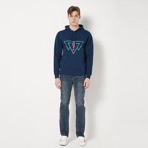 Sweats à capuche Imprimé en vrac BMS Deisgner Sweat-shirt Mens Casual Tops USA Jeans Hommes