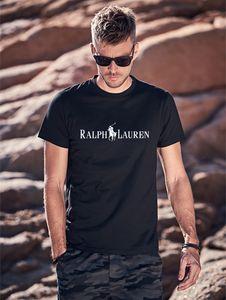 La moda de las nuevas mujeres camiseta del estilista de la alta calidad del algodón del verano de manga corta para hombre del estilista de impresión de letrasRalph camisetas de polo zz8Lauren