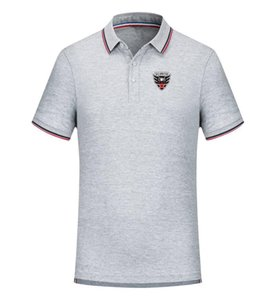 T-shirt DC United Football Team New Uomo Abbigliamento Polo da golf T-Shirt T-shirt polo Pallacanestro T Uomo