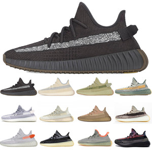 Zapatos Top Running Zyon lino reflectante Yecheil Negro V2 mujeres del diseñador del Mens zapatillas de deporte de la cebra blanco resplandor de la escoria Israfil Luz trasera Deporte