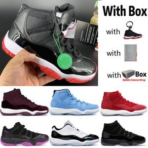 2020 Новый 11 Низкий Белый Разводят 11s High Наследница Night Maroon Jumpman Баскетбол обувь Pantone Белая змея Подумай 16 Мужчины Женщины Дизайнерские кроссовки