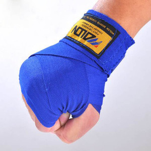1 pair 2pcs Cotton Sports Strap Boxing Bandage Sanda Hand Gloves Wraps Kids Men Women Boxing Training Glove Thai Handwraps