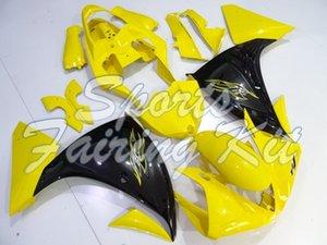 Abs carenatura per YZF1000 R1 2009-2011 Giallo Nero carenature YZFR1 09 10 Body Kit YZF R1 09 10