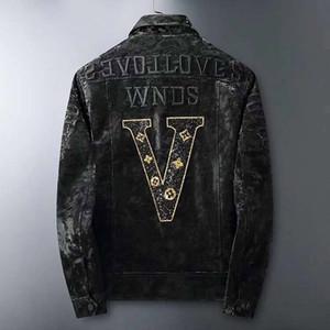 2020 Европейский прилив осень и зима новый стиль кожаная куртка мужчины, высокого класса качества, стандартный размер M-3XL