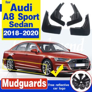 Für Audi A8 d5 Schmutzfängern Wachen sport spritzen Kotflügeln A8 Audi Auto Kotflügel Autozubehör 2018-2020 Auto Vorne Hinten Mudflaps