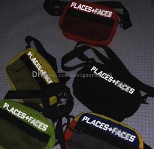 أماكن مفضلة + FACES 3M تعكس ألواح التزحلق حقيبة عالية الجودة جذاب لطيف عارضة الرجال الكتف حقيبة الهاتف المحمول البسيطة حزم ستور