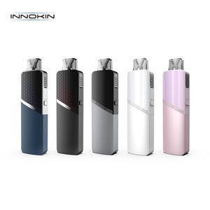 Innokin Scepter Pod Kit Built-in 1400mAh Com Scepter Pod Cartucho 1.2ohm 0.5ohm Bobinas MTL RDL Vape de arranque de dispositivos 100% Authentic