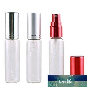 10мл 10CC Empty Glass Refillable Multicolor Алюминий Perfume Spray Bottle с металлической Форсункой опрыскиватель стекла флаконом духов