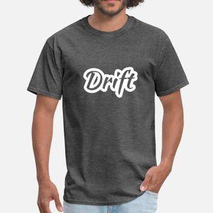 Drift King hombres de la camiseta Diseños tamaño de la camisa de algodón S-3XL normal divertidos locos del muelle estándar otoño