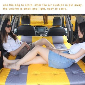 Car Camping Air Mattress Auto Blow Up Bed Inflatable Mattress Raised Airbed car bed