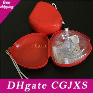 Premiers soins Cpr masque respiratoire Protéger la respiration artificielle Rescuers premiers masques d'aide Cpr masque respiratoire Un -Way Outils Valve