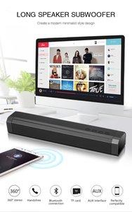 2019 LP-089 3D Sound Bar Беспроводной Bluetooth-динамик с двойной 5W Bass TF Поддержка карт Surround Sound Speaker вызовов Функция Better Bluedio