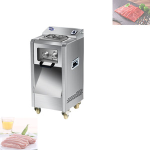 Electric commercial meat slicer Stainless steel slicer Wire cutter Fully automatic Meat grinder Sliced meat dicing machine