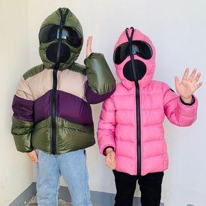 2020 Kleinkind-Mädchen Jungen Winterkleidung Weihnachten Kinderkleidung Jungen Snowsuit Jungen-Mantel-Winter Kinder-Daunenmantel mit Kapuze