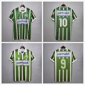 Top 1993 1994 Palmairas Retro Dudu G Jesús Fútbol Jersey Inicio Alecsandro Allione Cleiton 93 94 Vintage clásico de fútbol verde Jersey
