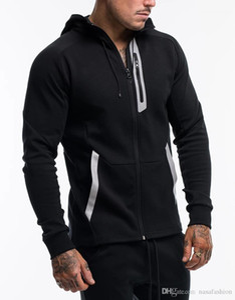 Casual Pullover Loose Men Sports Hooded Clothing Spring Panelled Mens Zipper Sweatshirts Mens Designer Cardigan Hoodies