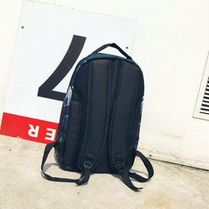 Новый дизайн рюкзака Benjamin голова Спрей рюкзак школьный Спортивная школа сумка Открытый день пакет
