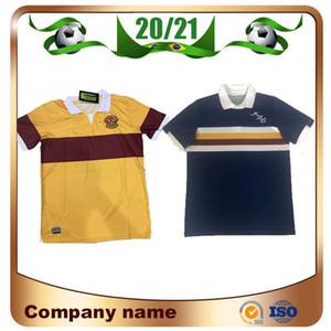 2020/2021 Motherwell Fußball-Jersey-2020 Schottland Motherwell nach Hause Donnelly A.Campbell Fußball-Trikots Kurzarm Fußball Uniform
