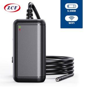 안드로이드를위한 F220 5.5mm WIFI HD1080P 2.0MP inspectioin 내시경 IP67 방수 USB 내시경 카메라