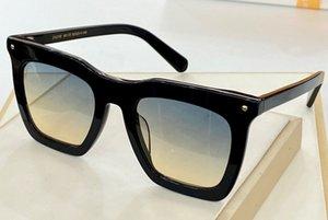 1218 Gafas de sol de moda de los hombres Retro Punk Square UV Protección para damas Gafas Gafas con caja de alta calidad