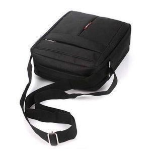 Fashion Mens Bag Casual Man Business Messenger Oxford Shoulder Bags Travel Black Brown Crossbody Flap