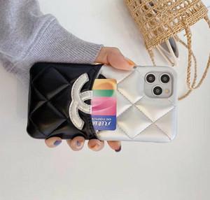 cuir Styliste téléphone pour iPhone 11 pro max SE 2020 de couverture pour l'iphone X Xs max Xr 6 7 8 plus portefeuille de luxe avec un sac de carte