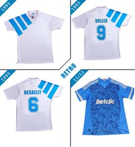 Les maillots de football de Marseille 1993 supplémentaire Payet Olympique de Marseille Boli 11/12 maillot de football vintage maillot de pied