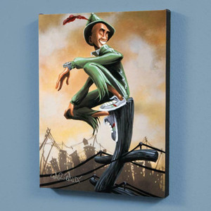 David Garibaldi Peter Pan Home Decoration Handpainted &HD Print Oil Painting On Canvas Wall Art Canvas Pictures Wall Decor 200928
