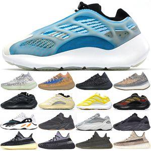 kanye eğitmenler 700 Erkek Kadın Koşu ayakkabıları Azareth Azael Alvah Aline Mavi Yulaf Mist Dalga Koşucu Vanta Asriel Cinder erkek Spor Sneakers