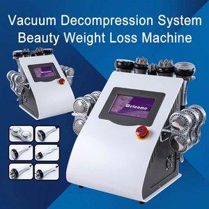 Cavitazione di grasso 40K Liposuzione ad ultrasuoni Cavitazione ad ultrasuoni Aspirapolo RF Body Shaping Perdita di peso Lipo Body Laser Body Slimming Beauty Machine libero Shippi