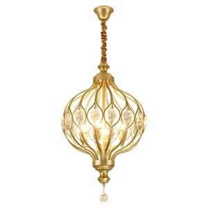현대 크리스탈 샹들리에 조명 주방 침실 아트 데코 버드 케이지 LED 샹들리에 천장 일시 중단 램프 candelabro 드 크리스털
