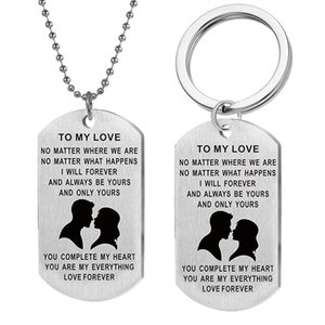 Keychain Womans Valentine's Day Key Chain Men Letter Pendant Key Ring Unisex Elegant Holder Alloy Lovers Jewelry Llaveros