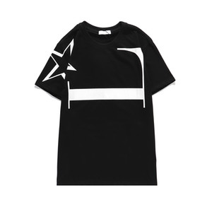 Mens T Shirt New Arrival Designers Men T Shirts Womens Crew Neck Short Sleeve Brand Tshirts Summer Fashion Star Printed Top Tees AN 200924V