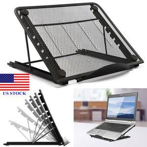 Pads de refroidissement pour ordinateur portable Porte-notes pliable Portable Porte-notes pliable Porte-lit Porte-lit C0065 US Stock