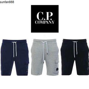 Un lunettes C COMPANY P hommes de pantalons en coton shorts courts de jogging hommes occasionnels pantalon taille M CP-XXL gris bleu noir