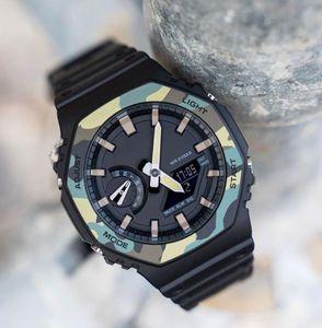 Royal Oak Relojes estilo de lujo del diseñador para Hombres G 2020 de la alta calidad del choque dual pulsera pulsera hombre Niños Jóvenes Relojes de visualización
