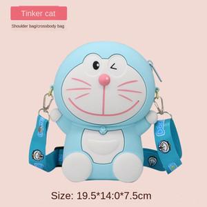Blu grasso bambola in silicone silicone 2020 nuovo sacchetto del fumetto messenger fata bambola bambino sveglio piccola borsa carina
