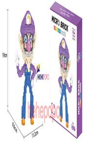 Ladrillos regalo clásico 1000pcs Modelo Micro Kid Diamond Figura Super Mini Mario Bros 7108a juego de bloques de dibujos animados Toy Ensamble ly_bags Qgkne