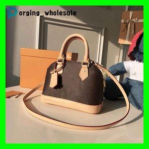 Clásico Alma BB flor vieja Brown Tablero de Crossbody del hombro de la manera bolsa de embrague bolso de lujo paquete de la cáscara 2020 nueva bolsa de mensajero