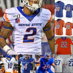 NCAA Boise State 27 Jay Ajayi 34 Robert Mahone 2 Khalil Shakir 40 Tyrone Crawford 38 Vander Esch 38 Leighton Vanderesch Jersey de football