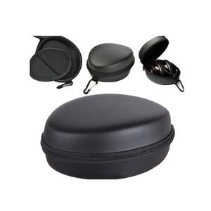 Big Size Caso cuffie con moschettone Zipper antidetonante Storage Box impermeabile EVA anti-drop off auricolare Storage Bag incorporato Mesh Gag