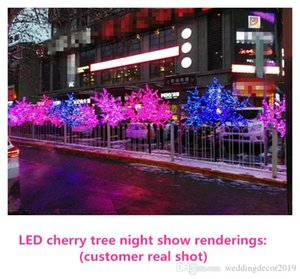 New Arrival LED Cherry Blossom Christmas Tree Lighting Waterproof Garden Landscape Decoration Lamp For Wedding Party Christmas