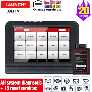 Launch X431 V 8inch Car diagnostic Tool Support 16reset full system 2 year update free Original Launch X 431 V PK PROS mini Tool