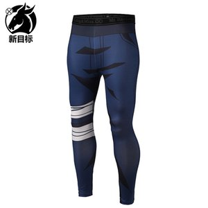 Leggings 2019 spring new tight yoga pants cartoon digital 3D printing sports stretch fitness pants