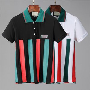 2020 Новый дизайнер поло мужская рубашка-поло с коротким рукавом случайные рубашки поло письмо Борос пчелиных мужской Polos размер рубашки M-3XL sssyyy66