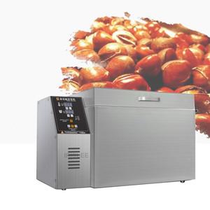La vente électrique multifonction à tambour rotatif noix graines de torréfacteurs torréfacteurs grains de la machine sèche-linge machine à rôtir Chatain